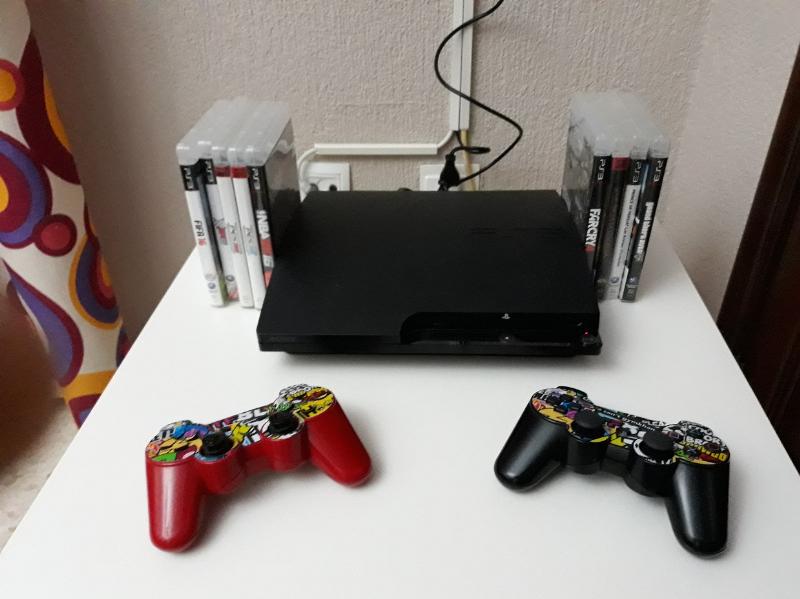 Vendo PS3 Slim de 111 gb liberada y en perfecto estado