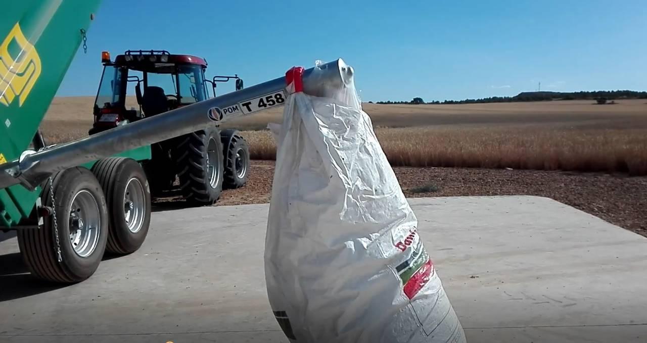 SINFIN PLEGABLE HIDRAULICO para remolque agricola  - Foto 7