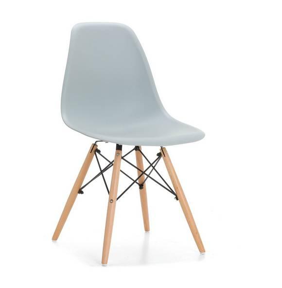 Silla de diseño Eames.Poseen un diseño muy innovador,