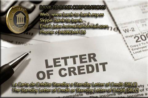 Compramos SBLC carta de crédito con EUROCLEAR