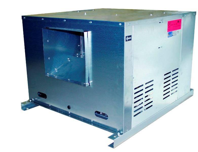 caja de ventilacion 400º/2h