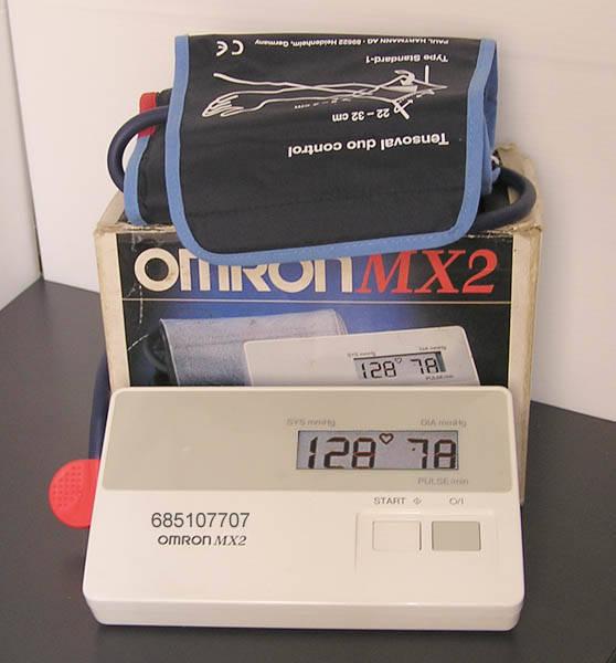 Tensiometro de brazo Omron MX2