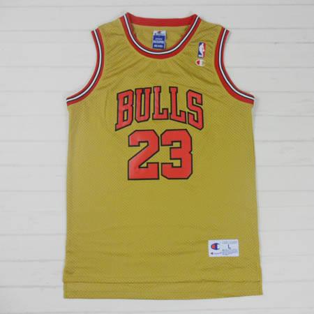Camisetas nba nike amarillo Michael Jordan Chicago Bulls segunda mano  Sevilla