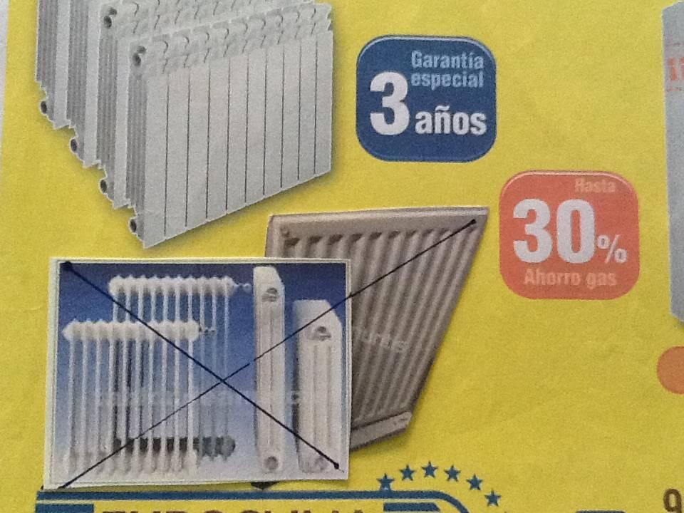 ºCALEFACCION CAMBIO DE RADIADORES SIN OBRAS