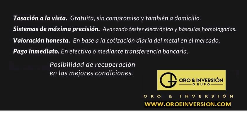 ORO&INVERSION COMPRO ORO BALAGUER