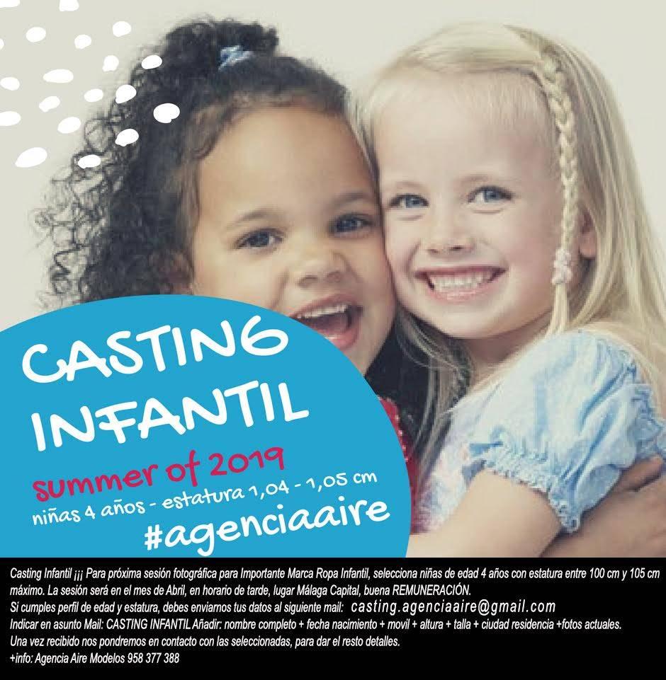Casting infantil Málaga