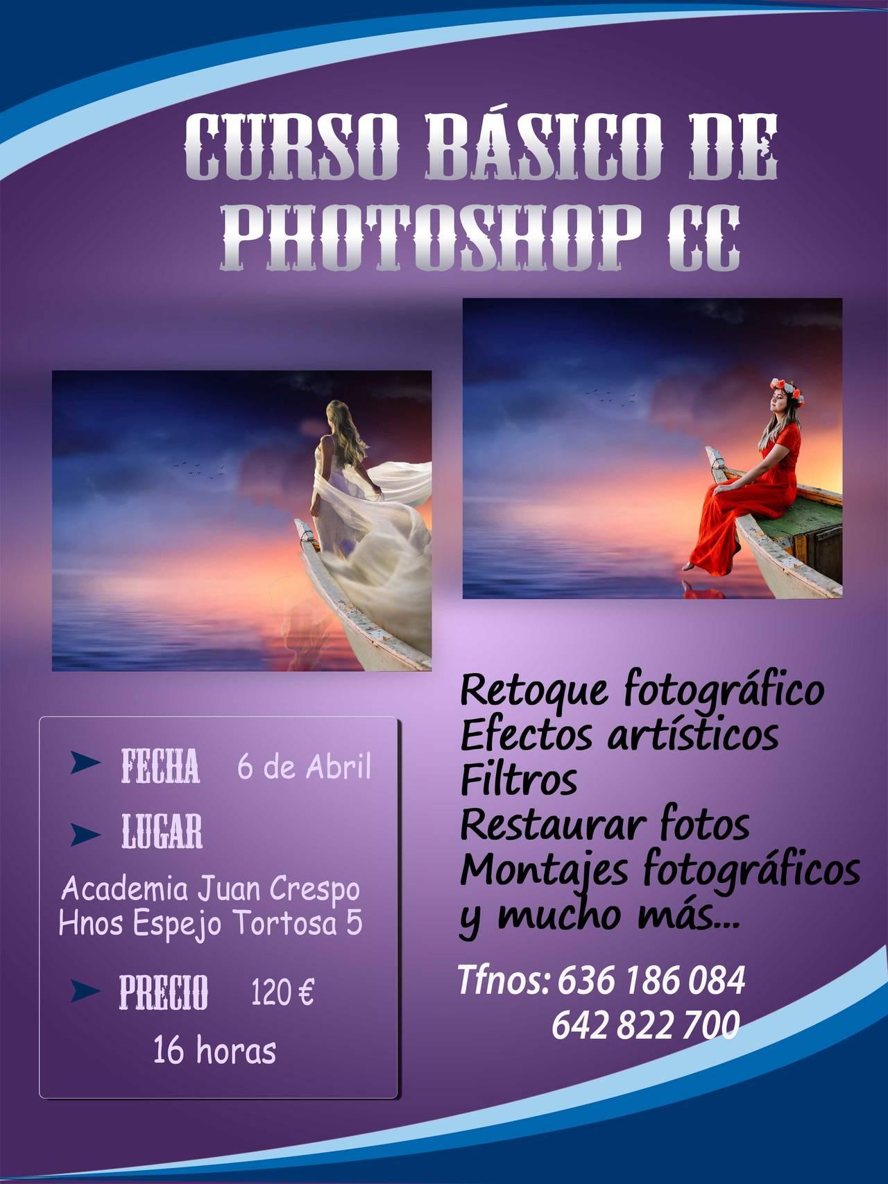Curso básico de Photoshop CC