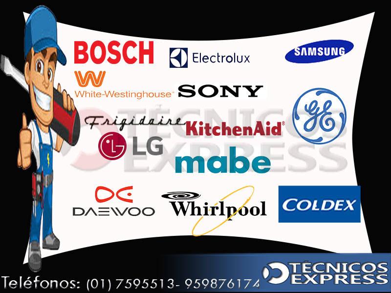 Servicio Técnico de Refrigeradoras Electrolux, Kenmore, Bosch