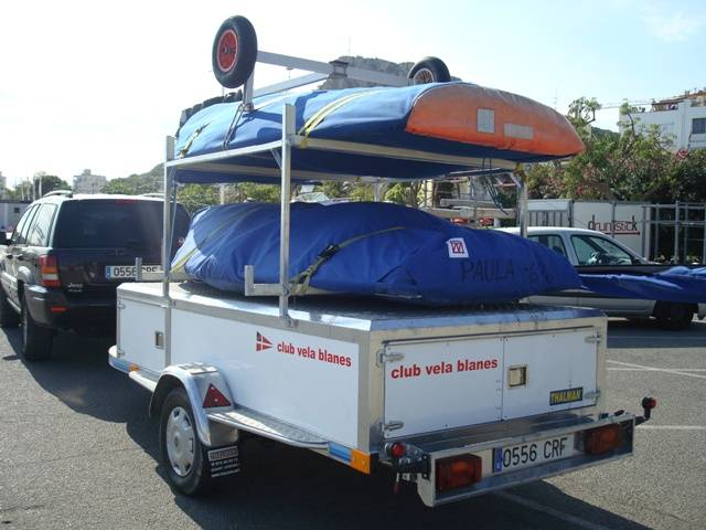 Thalman Quality, remolque nautico para barcos de vela ligera