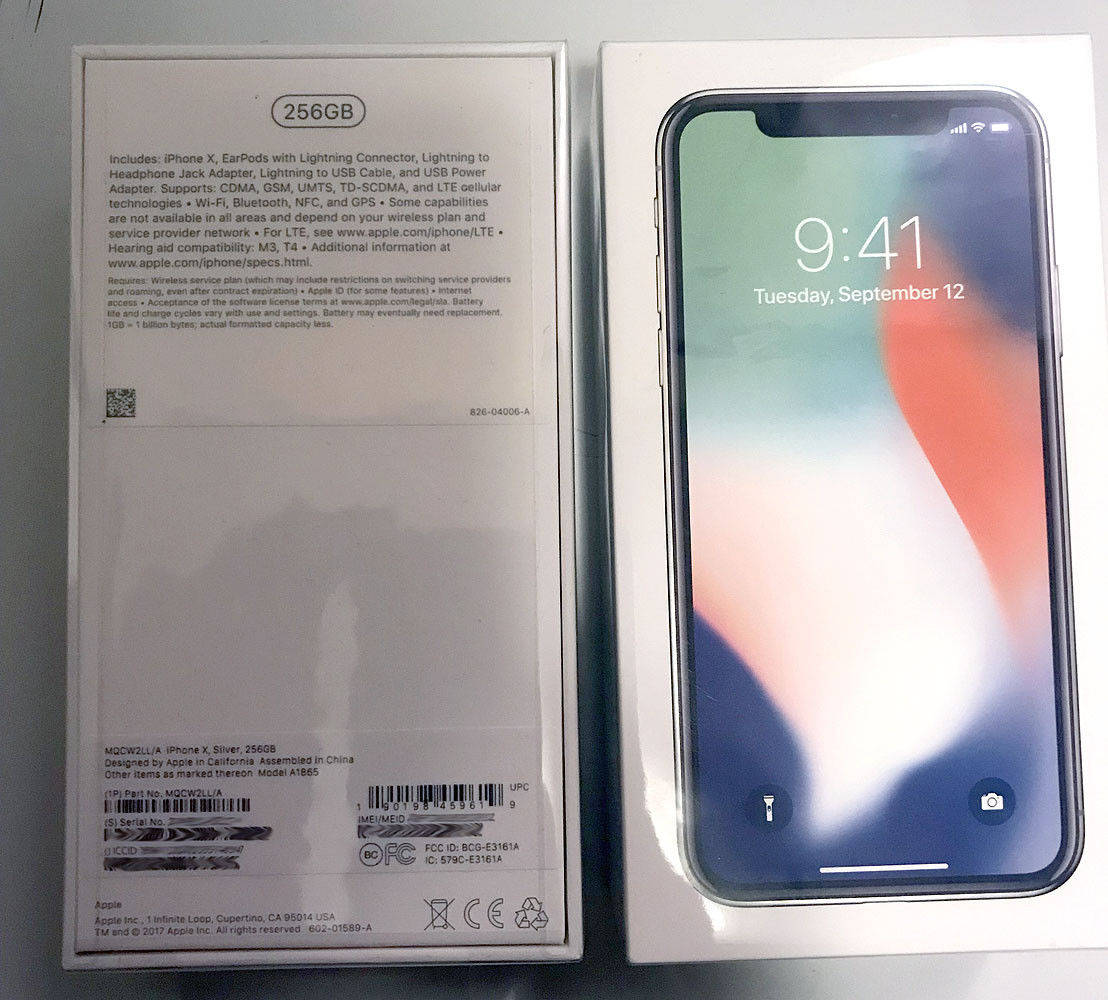 EN VENTE:Brand New Unlocked Apple iphone X  256GB  $650
