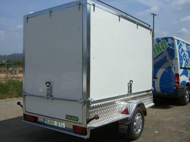 Remolque cerrado carrozado en aluminio,Thalman Quality Trailers  - Foto 2