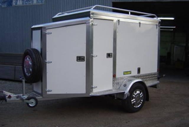 Remolque cerrado carrozado en aluminio,Thalman Quality Trailers  - Foto 10