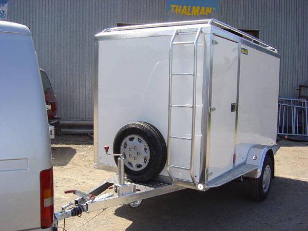 Remolque cerrado carrozado en aluminio,Thalman Quality Trailers  - Foto 8