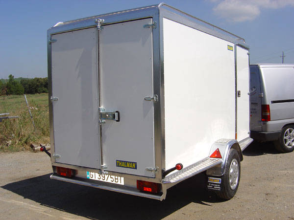 Remolque cerrado carrozado en aluminio,Thalman Quality Trailers  - Foto 9