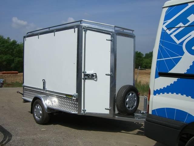 Remolque cerrado carrozado en aluminio,Thalman Quality Trailers  - Foto 4