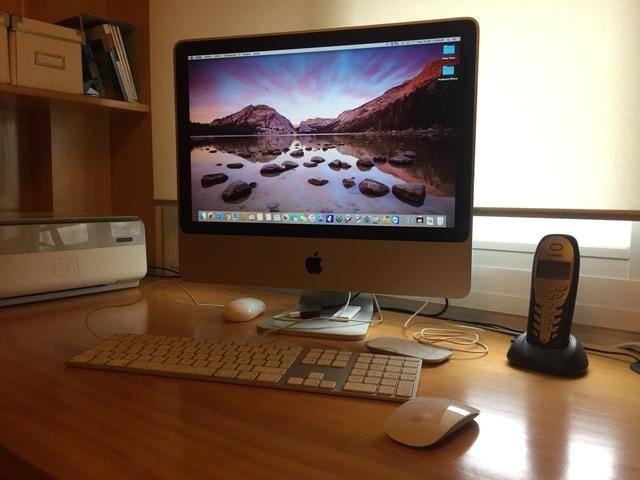 iMac 20 pulgadas de 2007.