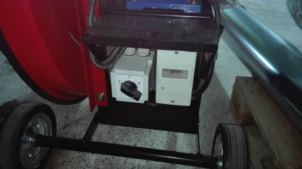 Transportador neumático tipo soplador. Para granulados  - Foto 2