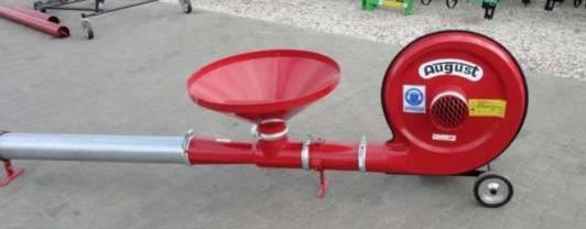 Transportador neumático tipo soplador. Para granulados  - Foto 4