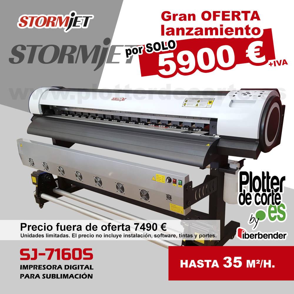 Impresora de sublimacion nueva economica profesional StormJet  - Foto 1