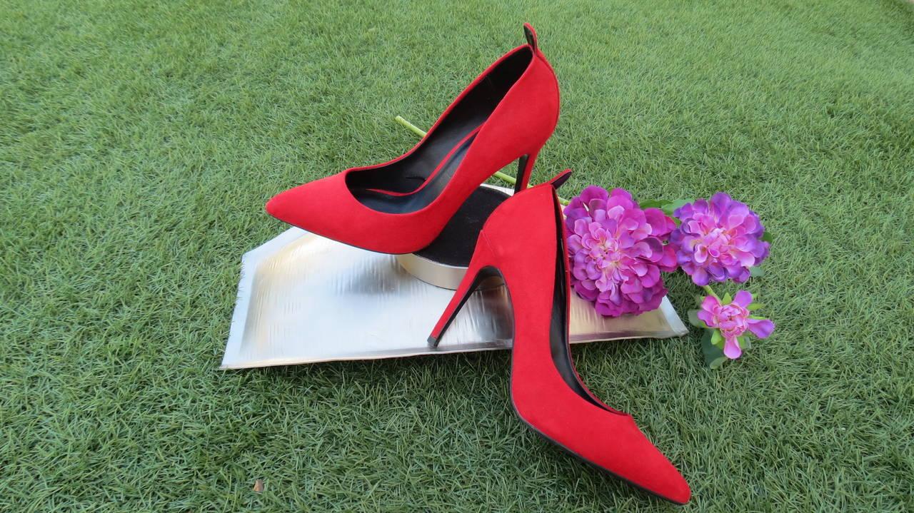Stilettos rojo pasión