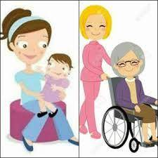 Cuidadora de personas mayores y niños  - Foto 1
