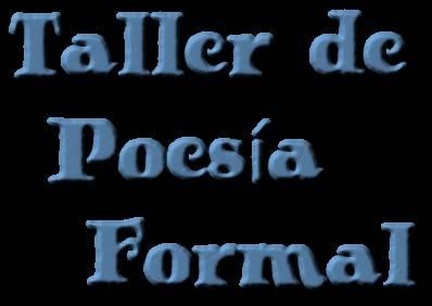 Taller de Poesía Formal
