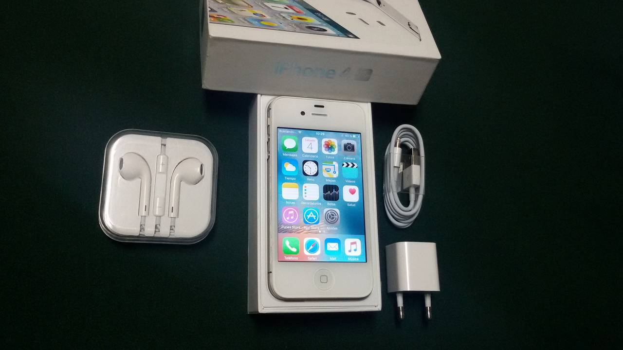 IPhone 4 S, 32 GB, Blanco.