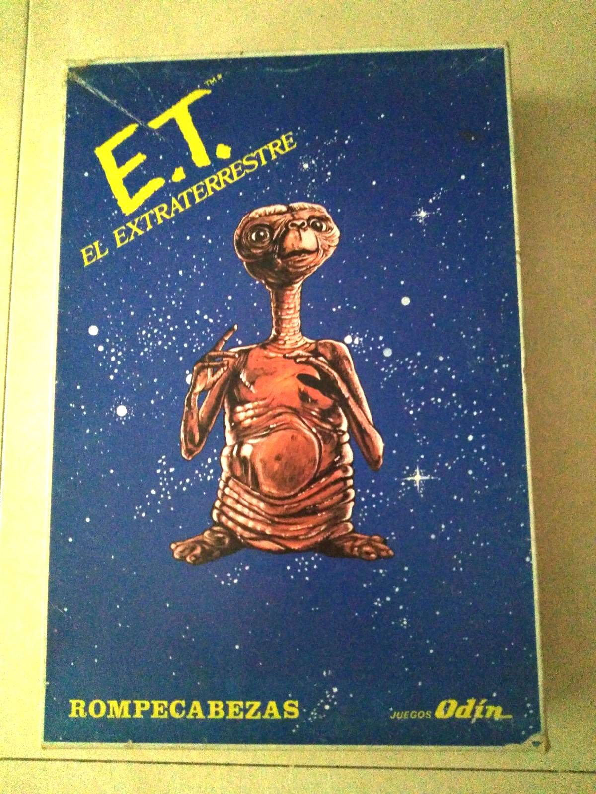 Puzzle + Libro de E.T. El Extraterrestre
