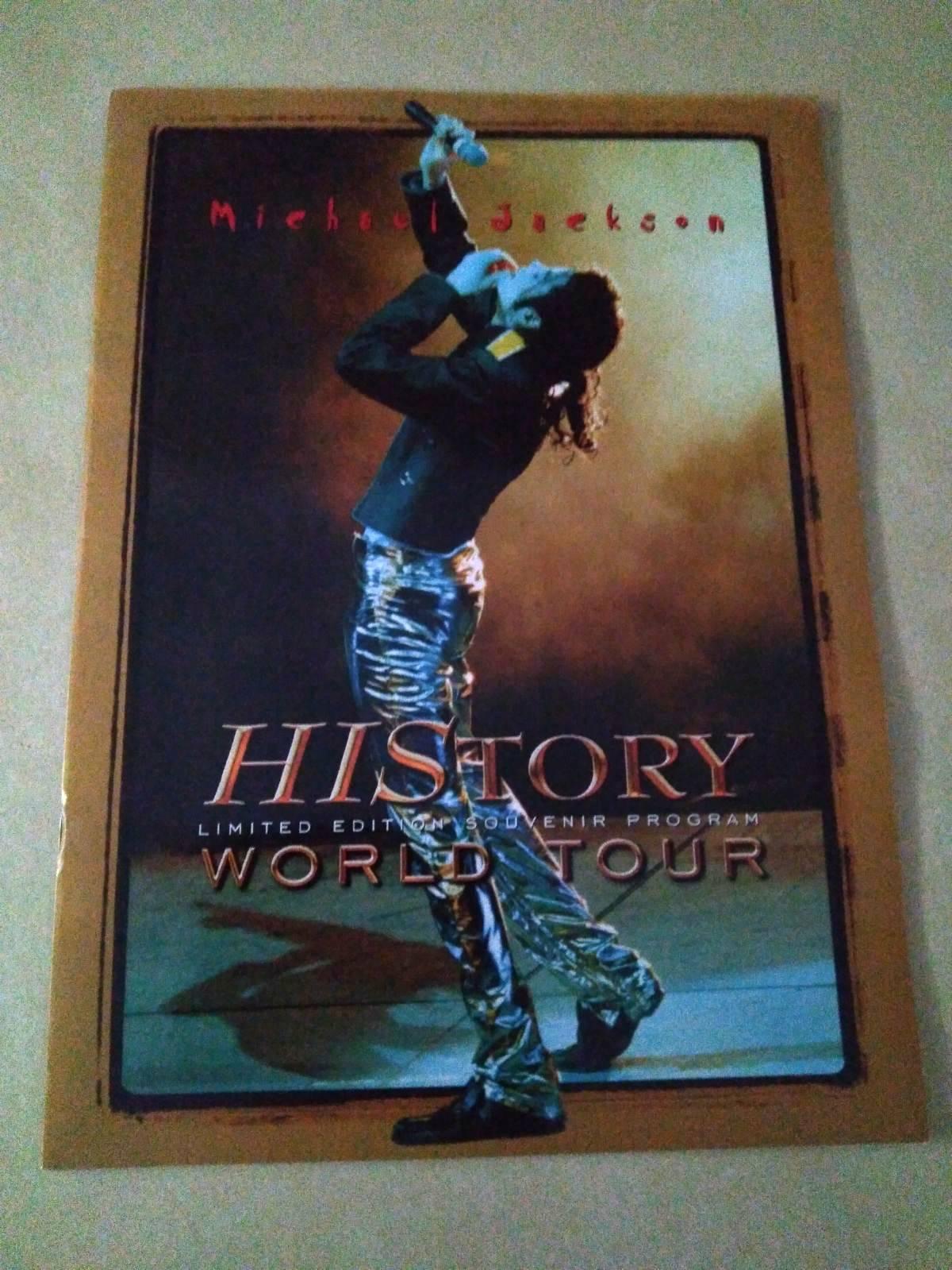 Limited Edition Souvenir Program HIStory World Tour
