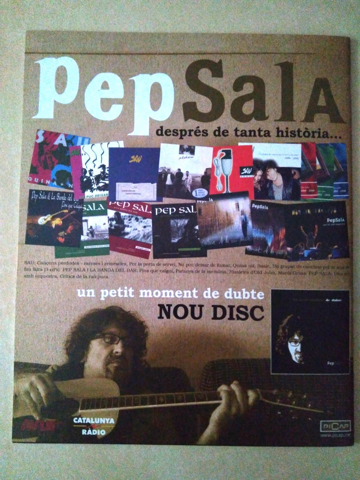 Pep Sala Cançons en la Boira  - Foto 2