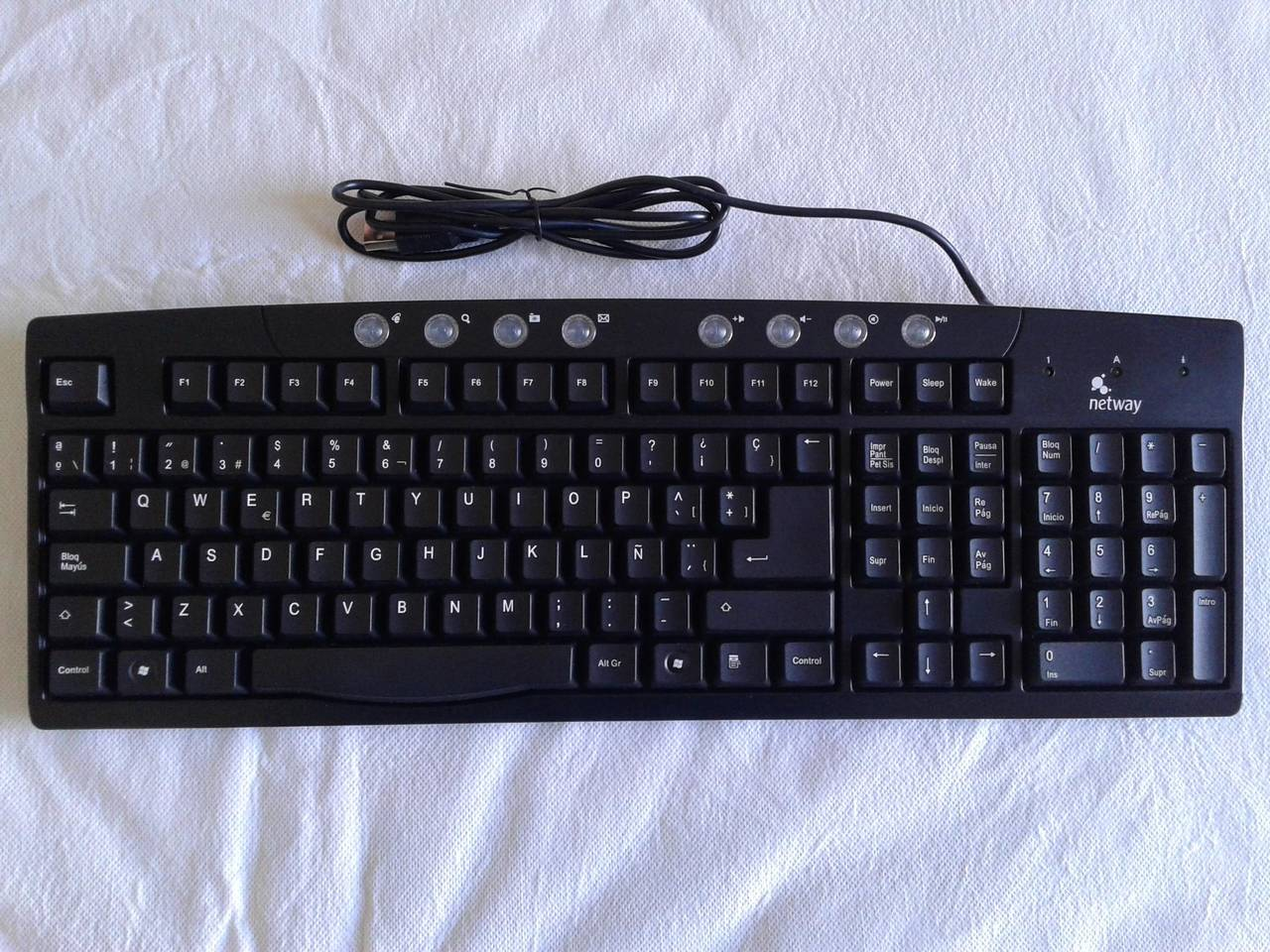 TECLADO NETWAY Join Us (Modelo F21-WE12)  - Foto 5