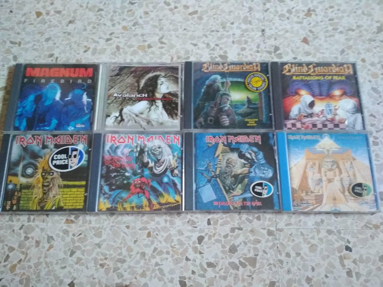 CDs y DVDs rock, heavy y punk  - Foto 1