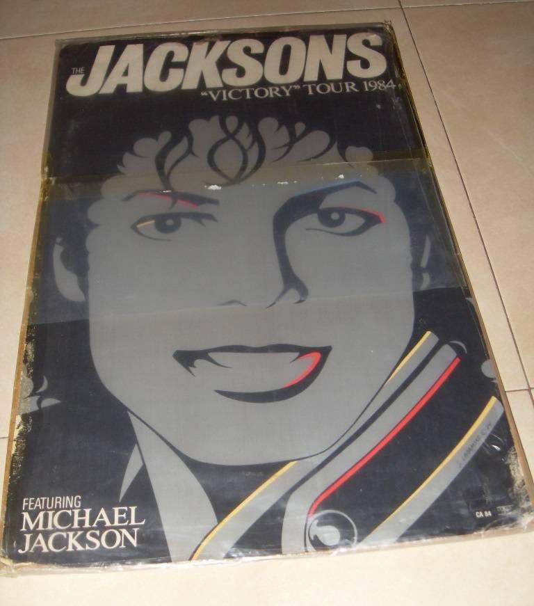 Cartel gira The Jacksons Victory Tour 1984