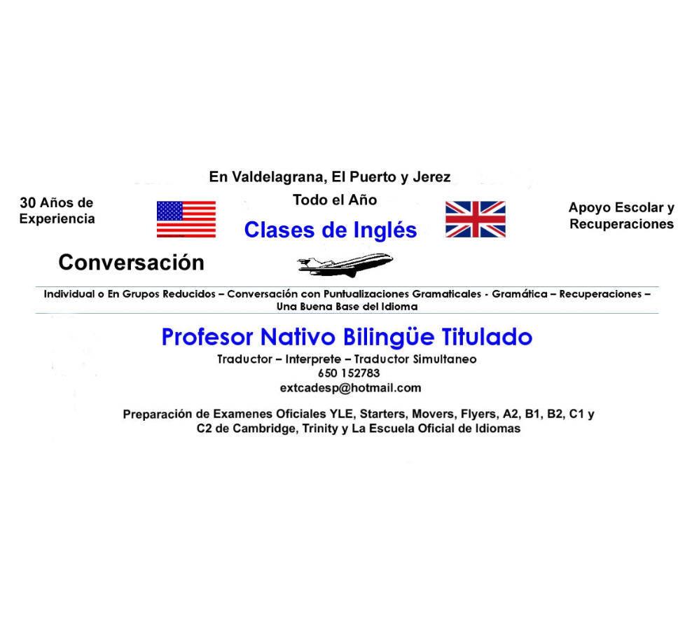 Clases de Ingles en El Puerto y Jerez  - Foto 1
