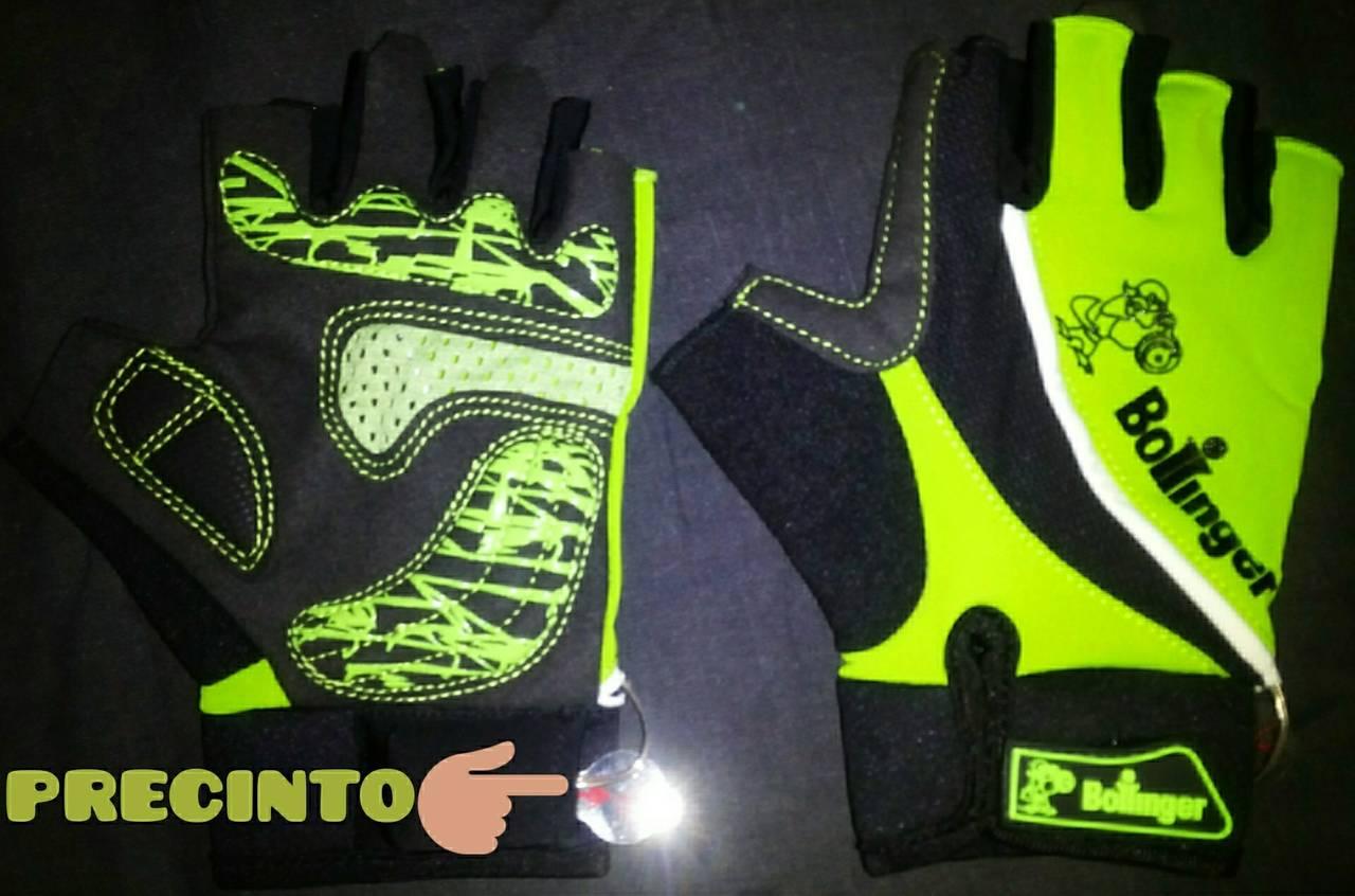 guantes con luz para bici bollinger  - Foto 1
