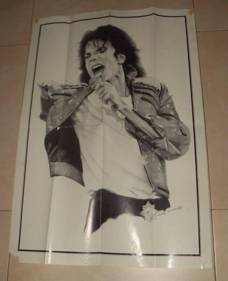 Poster Thriller Michael Jackson