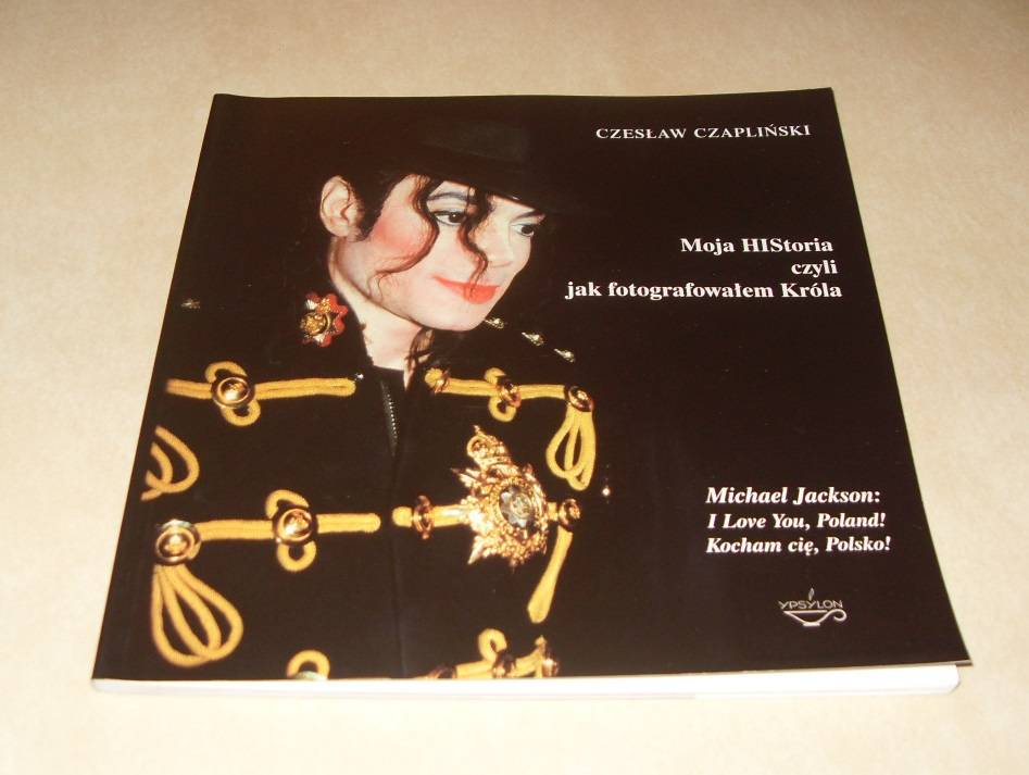 Libro Moja HIStoria czyli jak fotografowalem Krola Michael Jackson