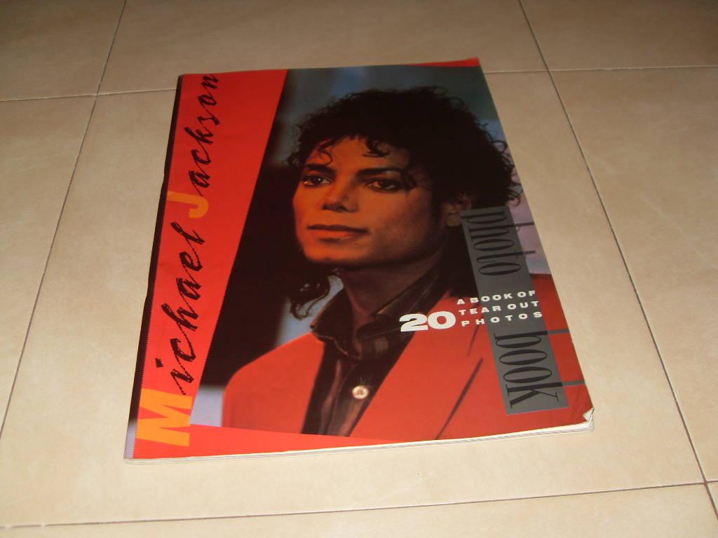 Libro Michael Jackson Photo Book A Book Of 20 Tear Out Photo