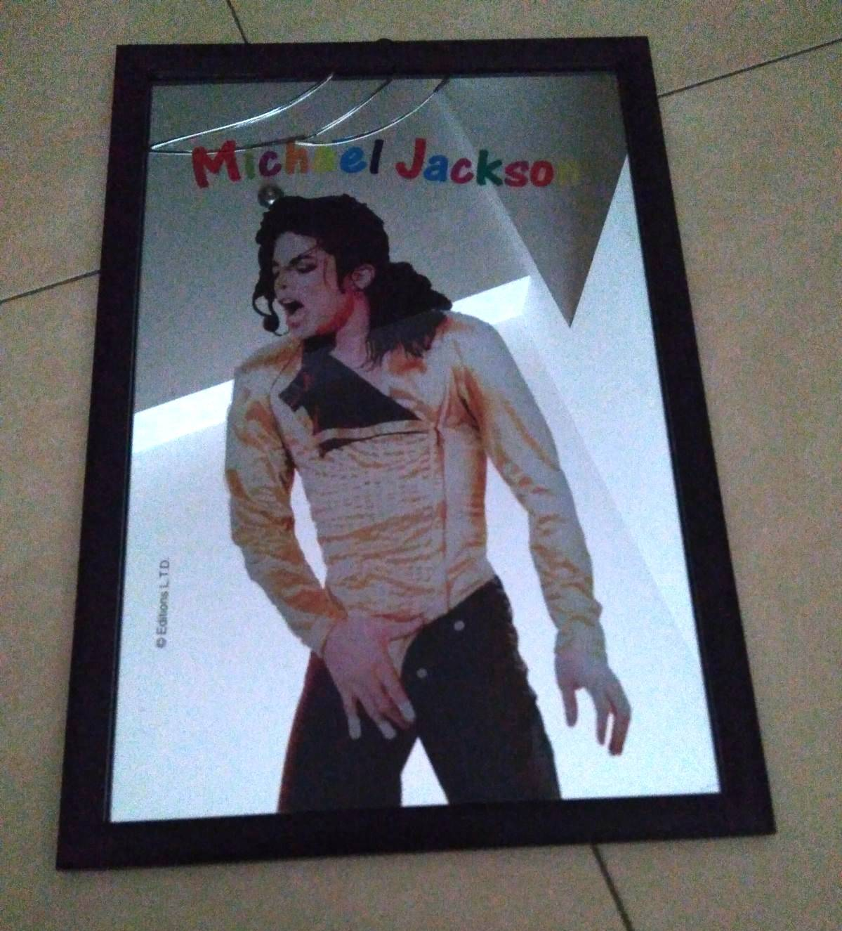 Cuadro espejo Remember The Time Michael Jackson