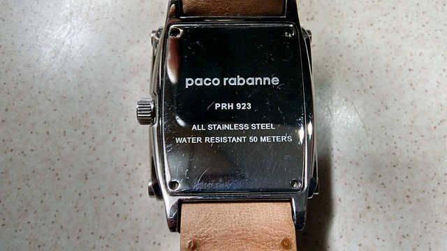 Reloj Paco Rabanne pulsera Caballero  - Foto 2