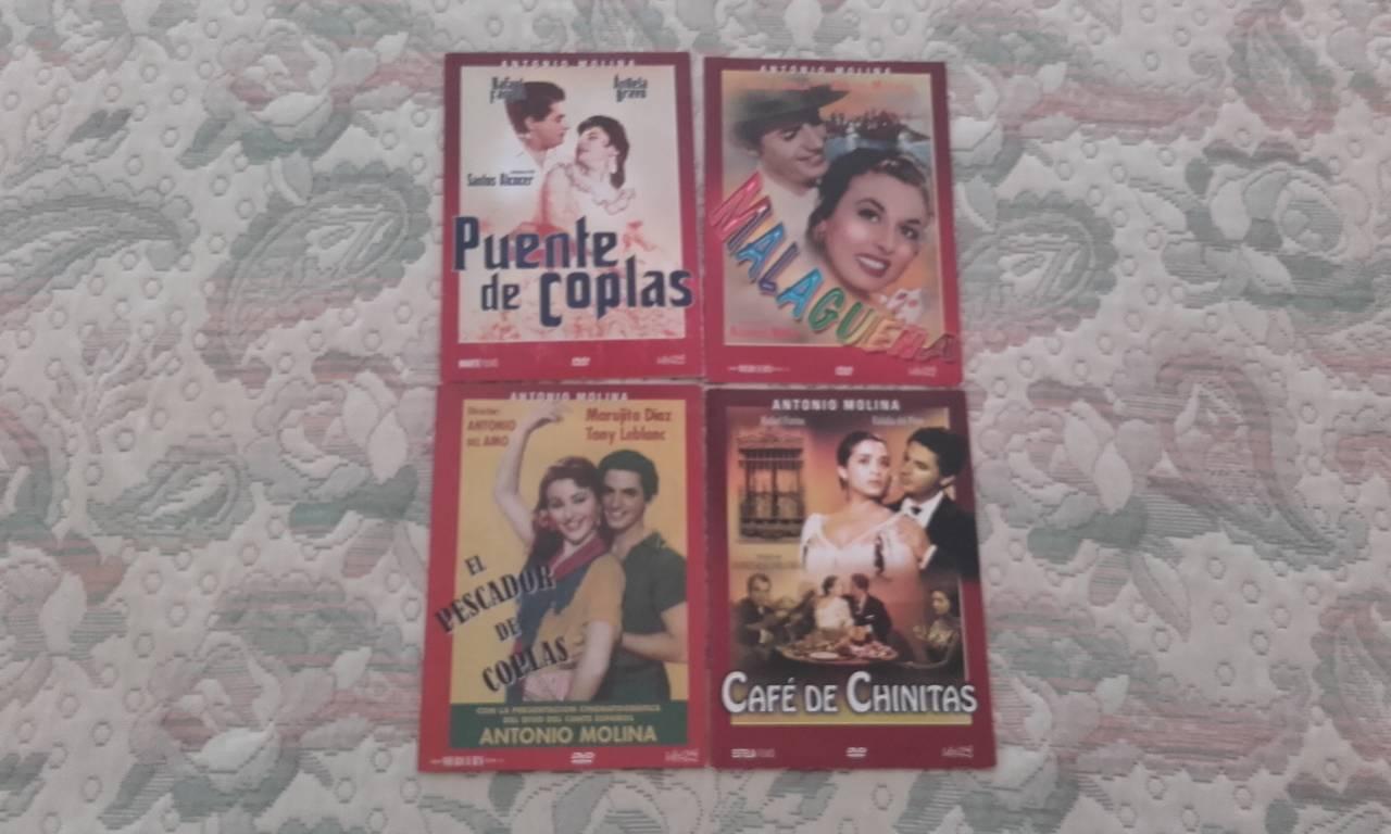 VENDO LOTE PELICULAS ANTONIO MOLINA EN DVD (4 EJEMPLARES)  - Foto 1