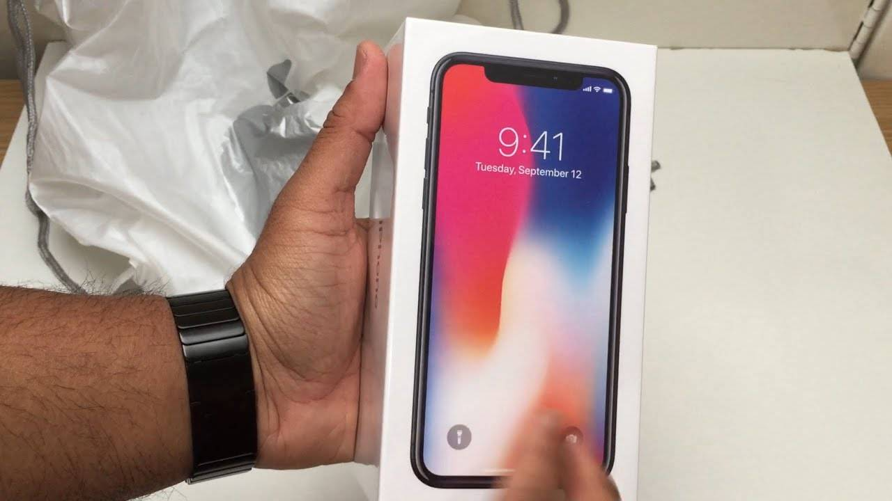 Apple iPhone X Factory Sealed Unlocked 256gb 64gb Space Gray and Silve  - Foto 1