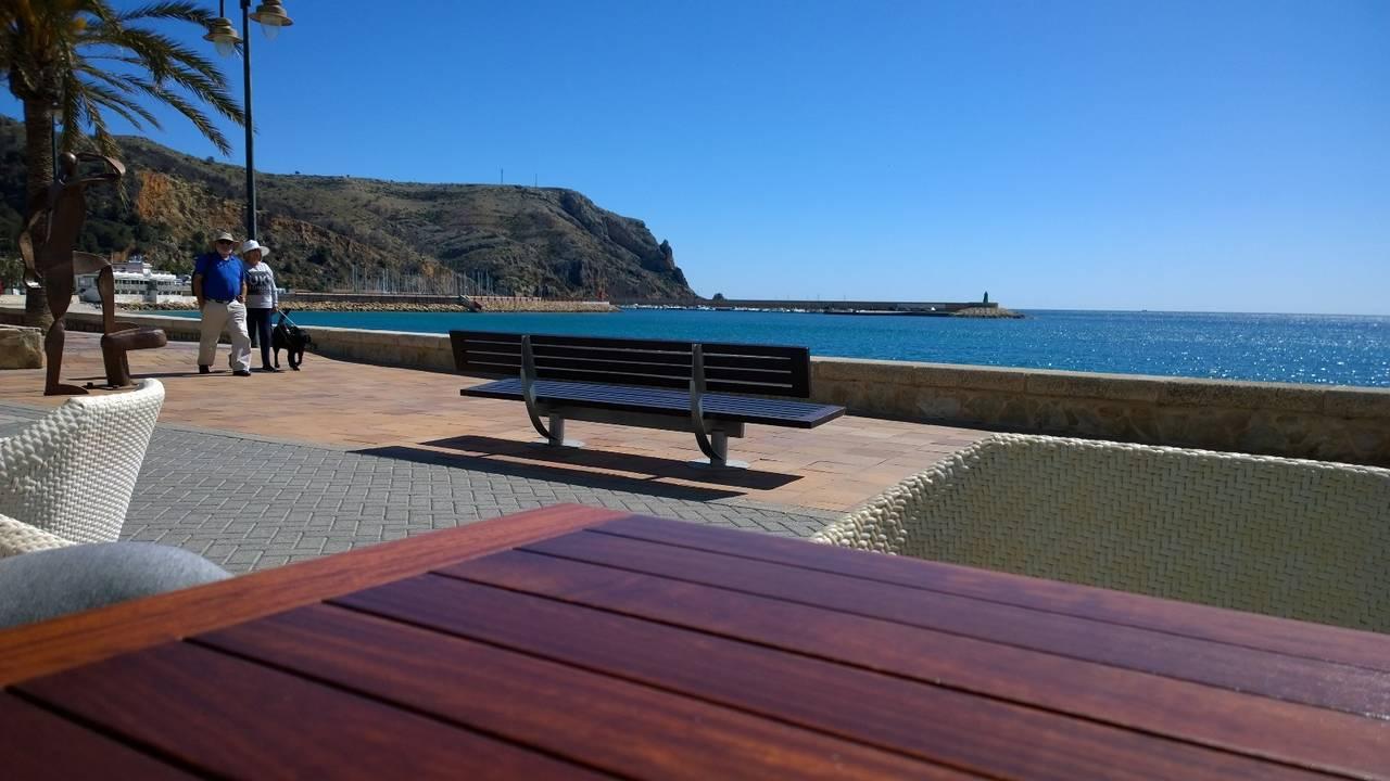 Magnifico estudio 1ª linea de playa Puerto de Javea  - Foto 8