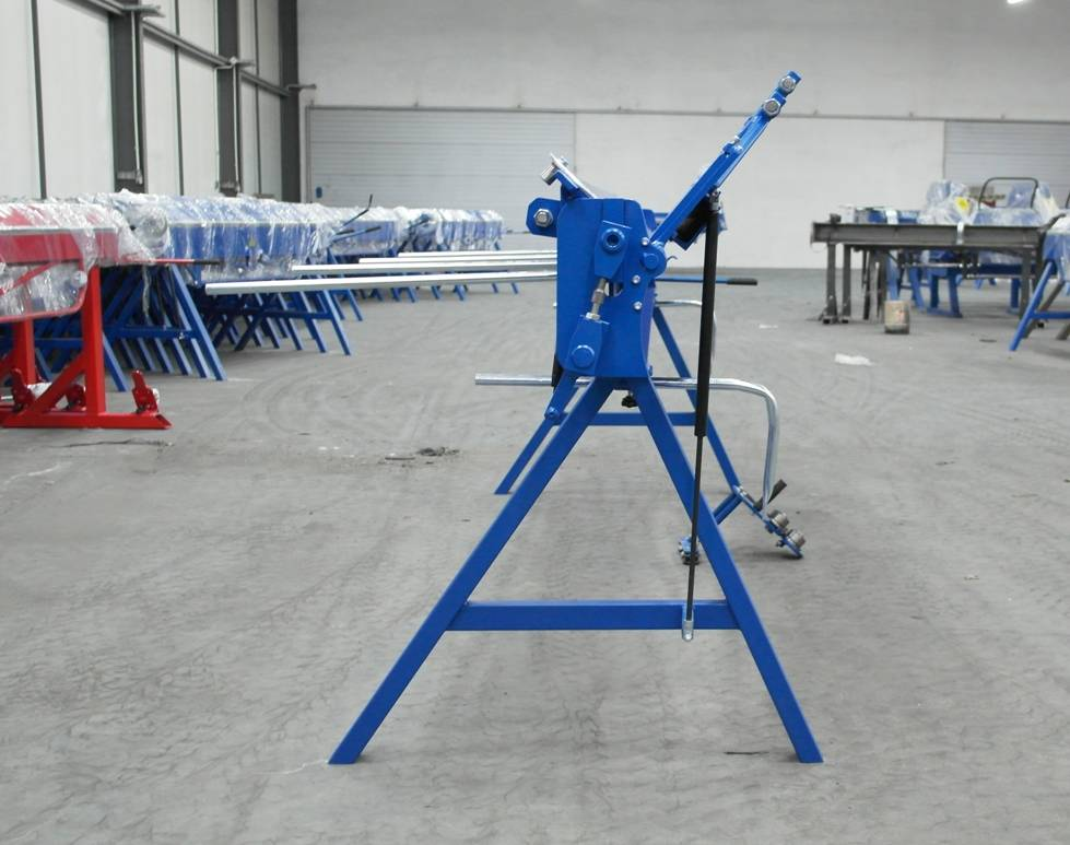Plegadora 3 metros Plegadora manual para aluminio dobladora para chapa  - Foto 10