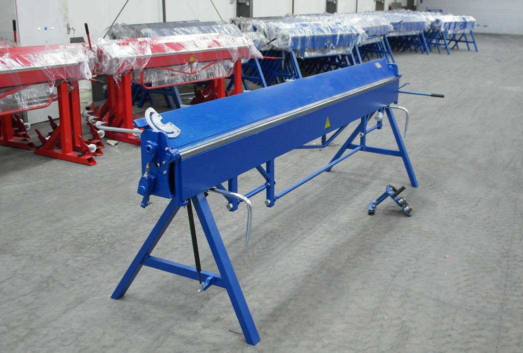 Plegadora 3 metros Plegadora manual para aluminio dobladora para chapa  - Foto 3