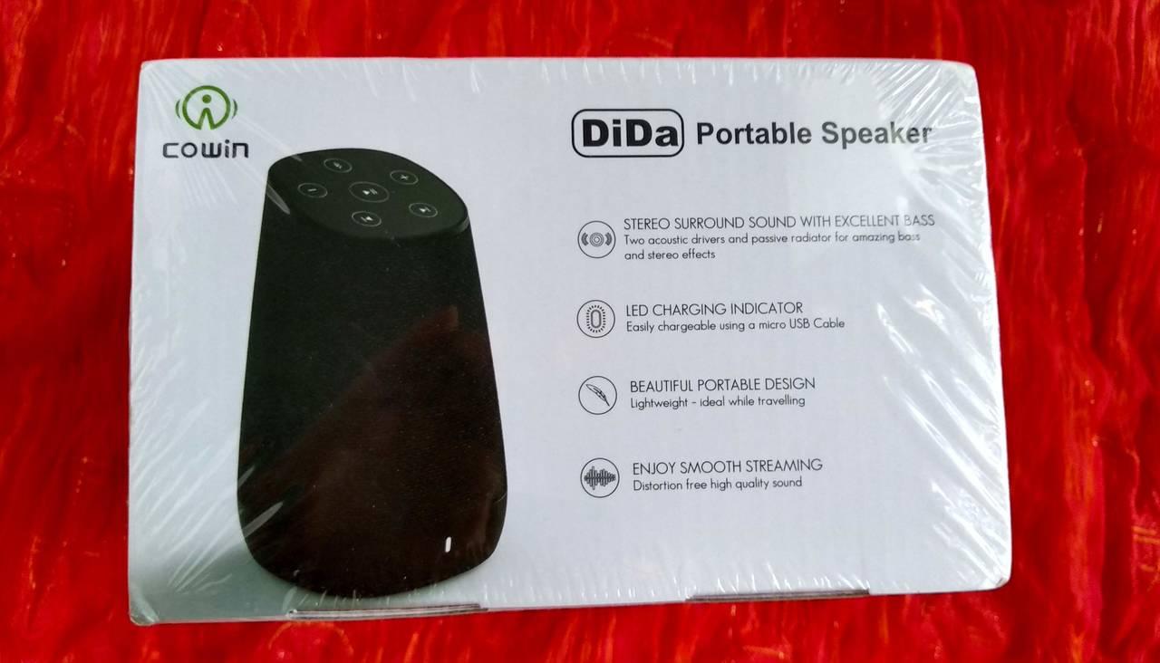 Altavoz Portátil Bluetooth COWIN DIDA