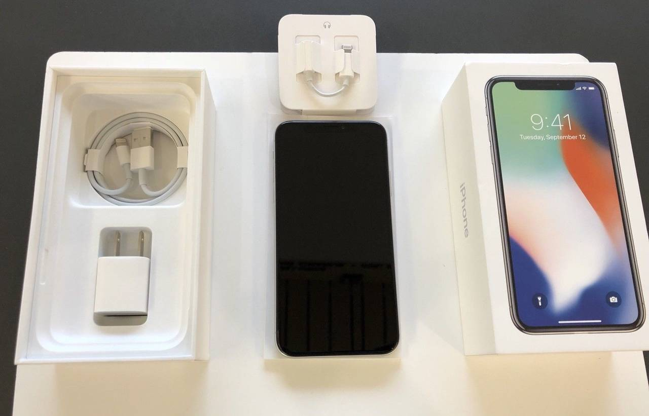 Nuevo Apple iPhone X 256 GB (espacio gris, plata)  - Foto 1