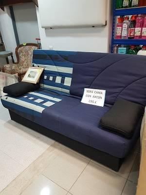 Sofá cama nuevo económico con arcón