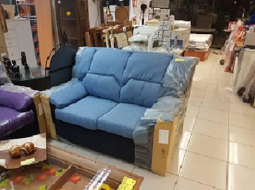 Sofá Azul nuevo económico