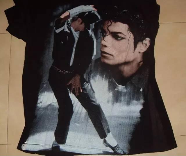 Camiseta Michael Jackson Black Or White
